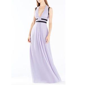 NWT! BCBG Margarette Maxi Dress 2 lilac ice purple